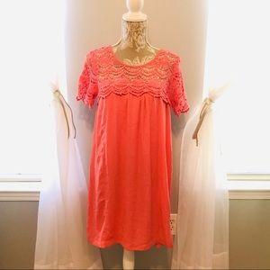 Dresses & Skirts - Coral Springtime Dress